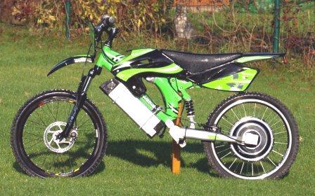 elektromotocykl 500W/36V