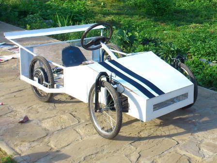 elektromobil 2x 1500W/48V