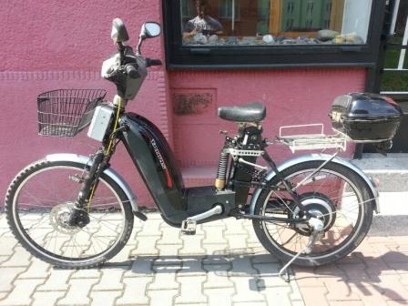 elektromoped 2x 500W/36V