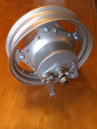 elektromotor v ráfku 1500W/48V